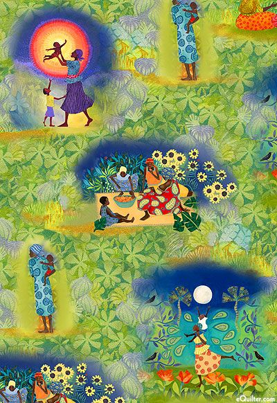 Cherish - Motherland Dreams - at eQuilter.com