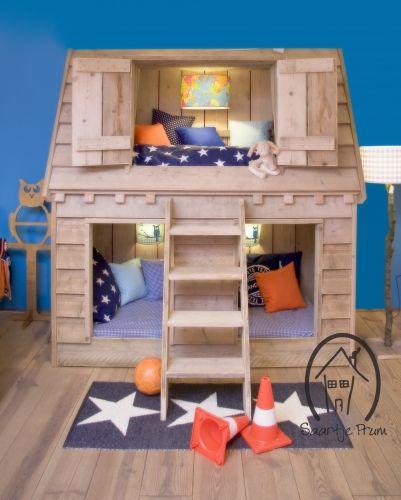 säng ikea barn ~ barnshopping loftsäng barn säng våningssäng koja  kids