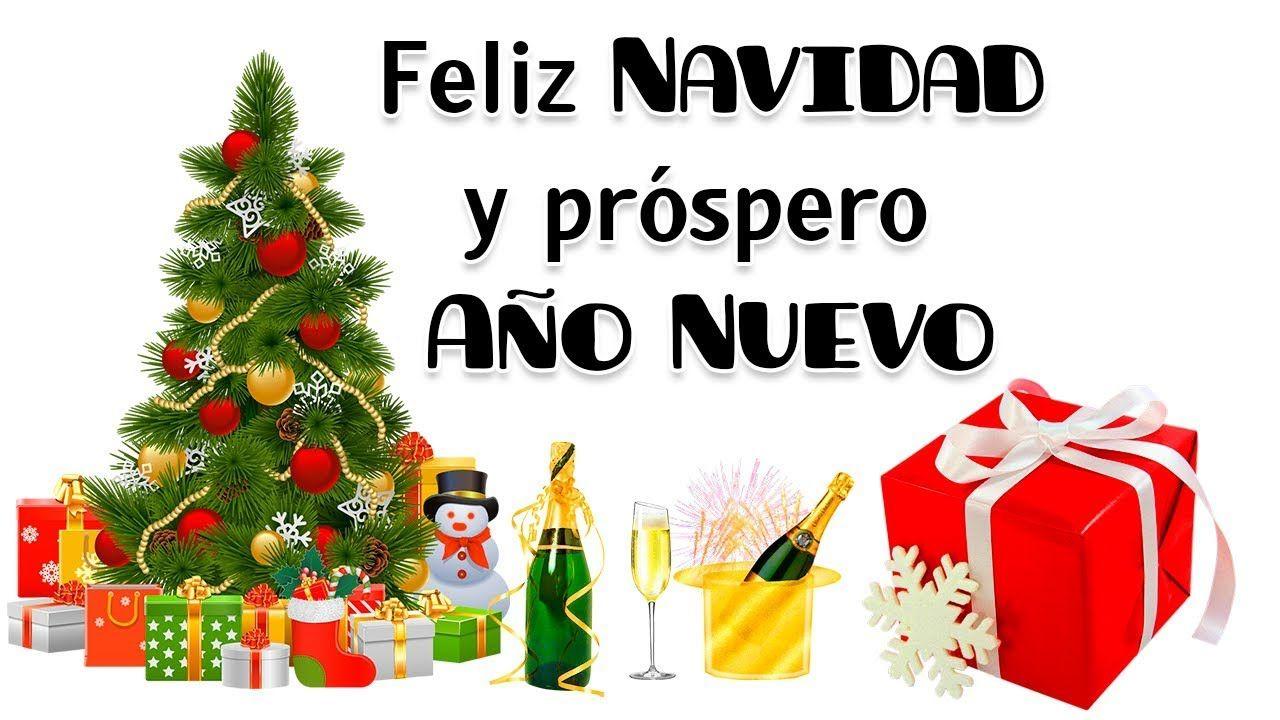 Ver Felicitaciones De Navidad Y Ano Nuevo.Feliz Navidad Y Prospero Ano Nuevo 2019 Frases Y Mensajes