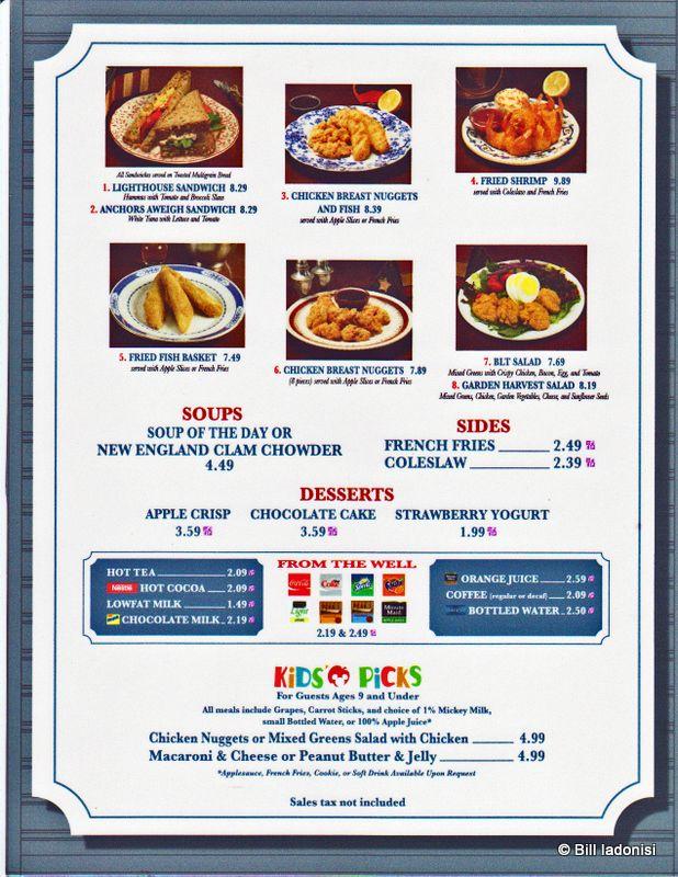 295d2f1081afe40d0acf57d482239c8d - Plaza Gardens Restaurant Disneyland Paris Menu
