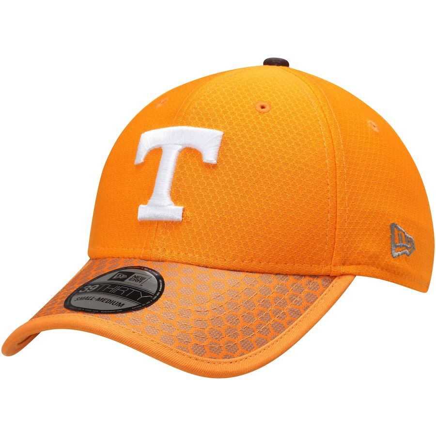 52fcde36ec3 Tennessee Volunteers New Era Sideline 39THIRTY Flex Hat - Tennessee Orange