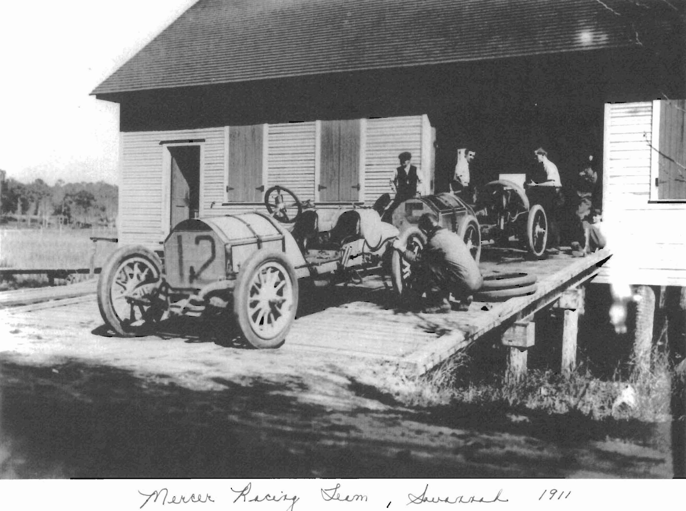 Mercer Auto Camp In And The Mercer Automobile Company