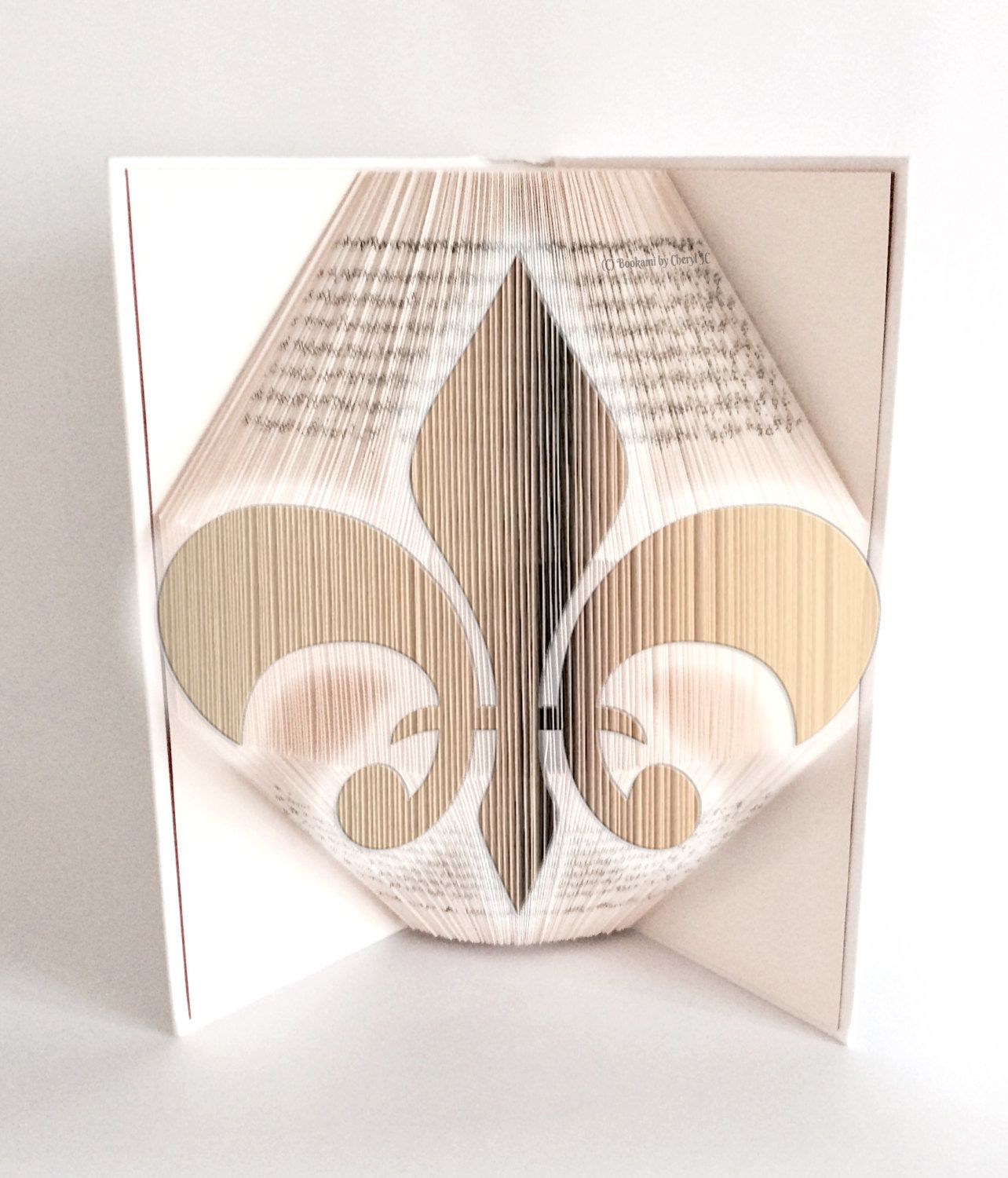 Free Book Folding Patterns Magnificent Decorating
