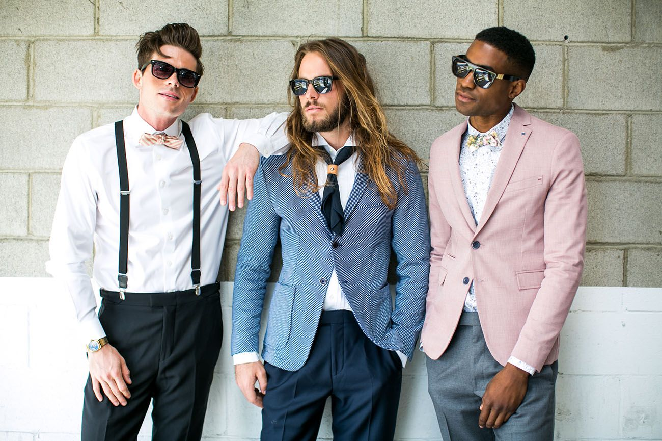 Eclectic Groom Style Inspiration | Pinterest | Groomsmen fashion ...