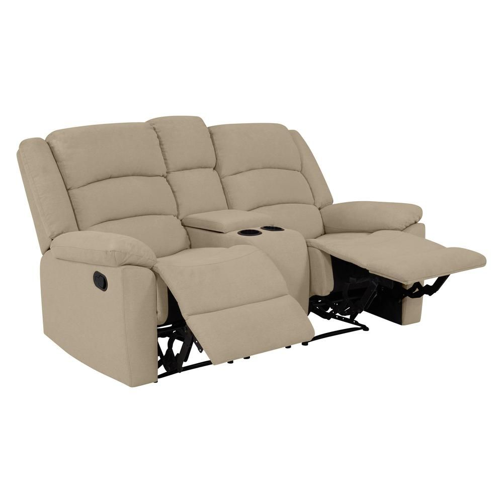 Superb Prolounger 2 Seat Wall Hugger Recliner Loveseat With Power Evergreenethics Interior Chair Design Evergreenethicsorg