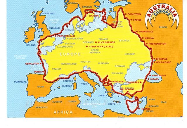 Australia Map In Europe.Ras From Mundoo Au Map It Australia Travel Solo Travel