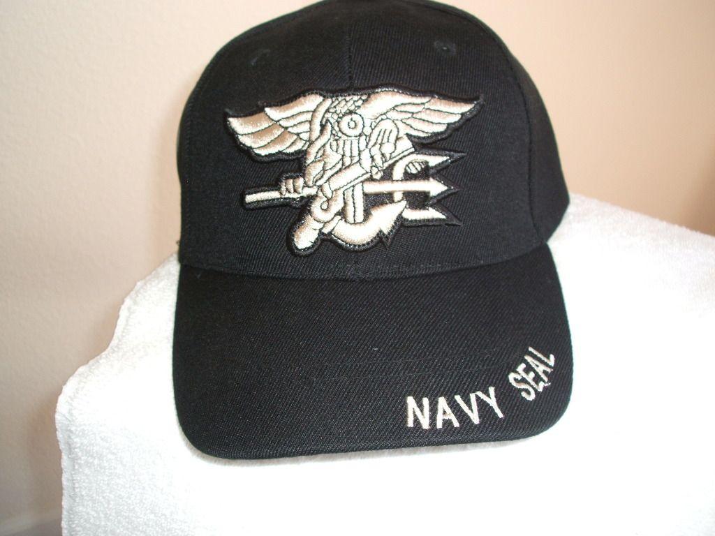 NAVY SEAL LOGO MILITARY BASEBALL CAP HAT FREE SHIPPING USA