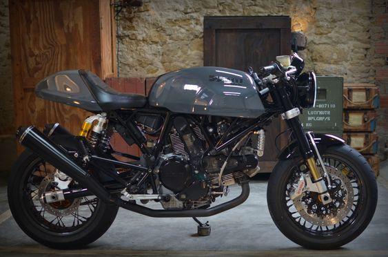 Ducati Sport 1000 Biposto By Kerozin Con Immagini Cafe Racer