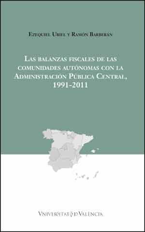 Uriel, E.: Las balanzas fiscales de las Comunidades Autónomas con la Administración Pública Central, 1991-2011. València: Universitat de València, 2015.