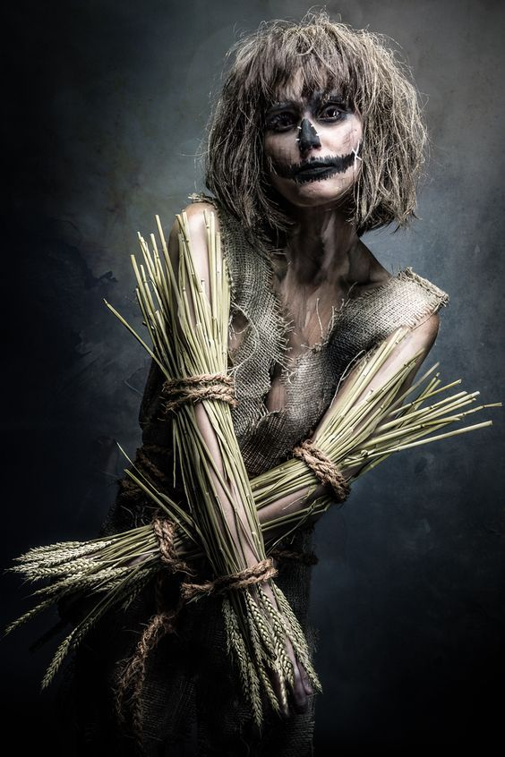 20 Scarecrow Halloween Makeup Ideas Scarecrows, Halloween make up - halloween scarecrow ideas