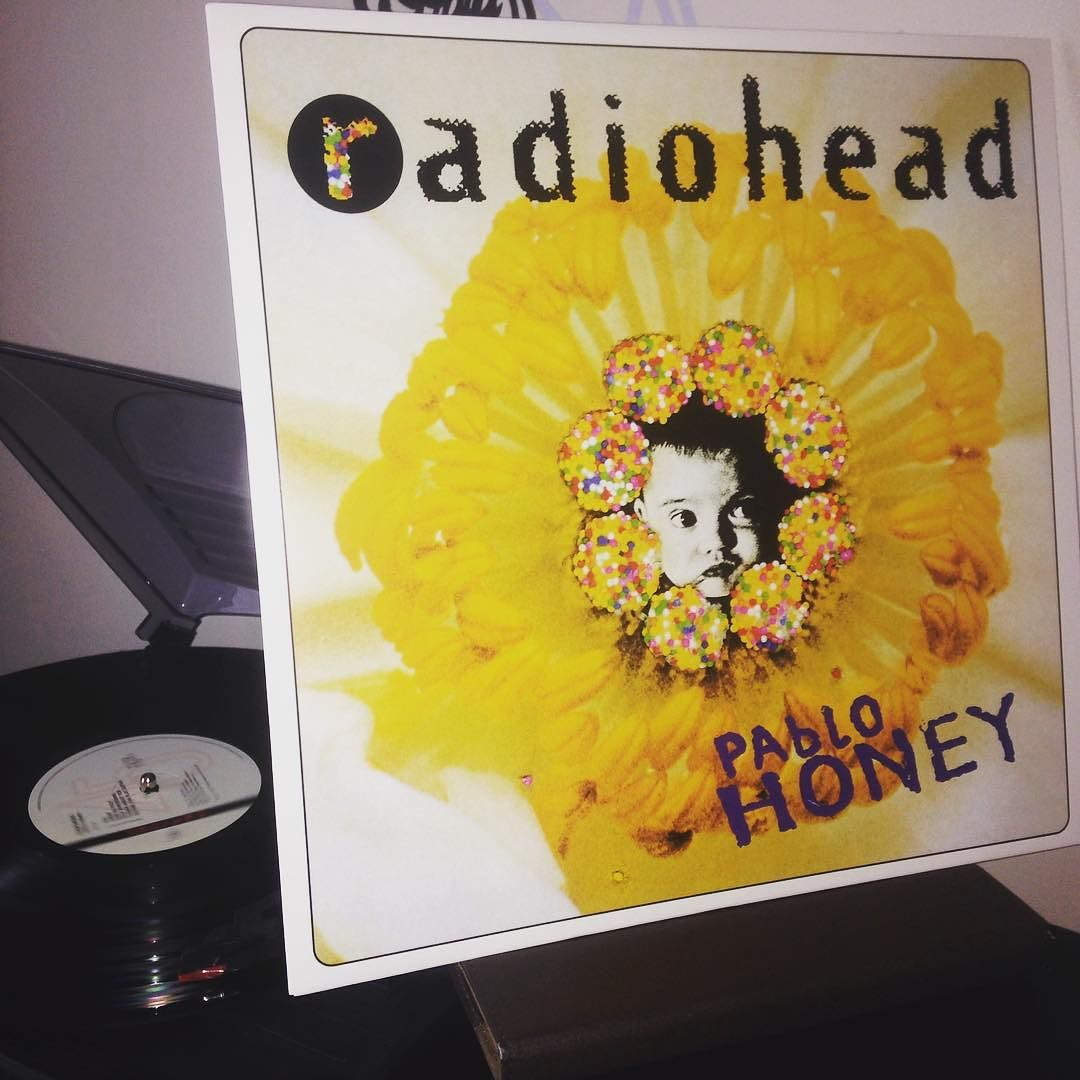 @spectacularmark this takes me back! #vinyl #vinylrecords #vinylcollection #radiohead #pablohoney by dc1977