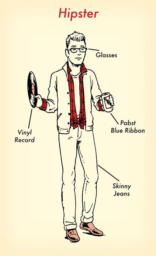 1 flannel shirt 7 halloween costumes - Hipster Halloween Ideas