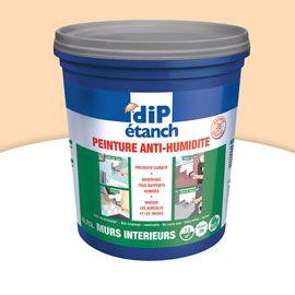 Peinture Anti Humidité Murs Intérieurs Dip Sable 0 75l