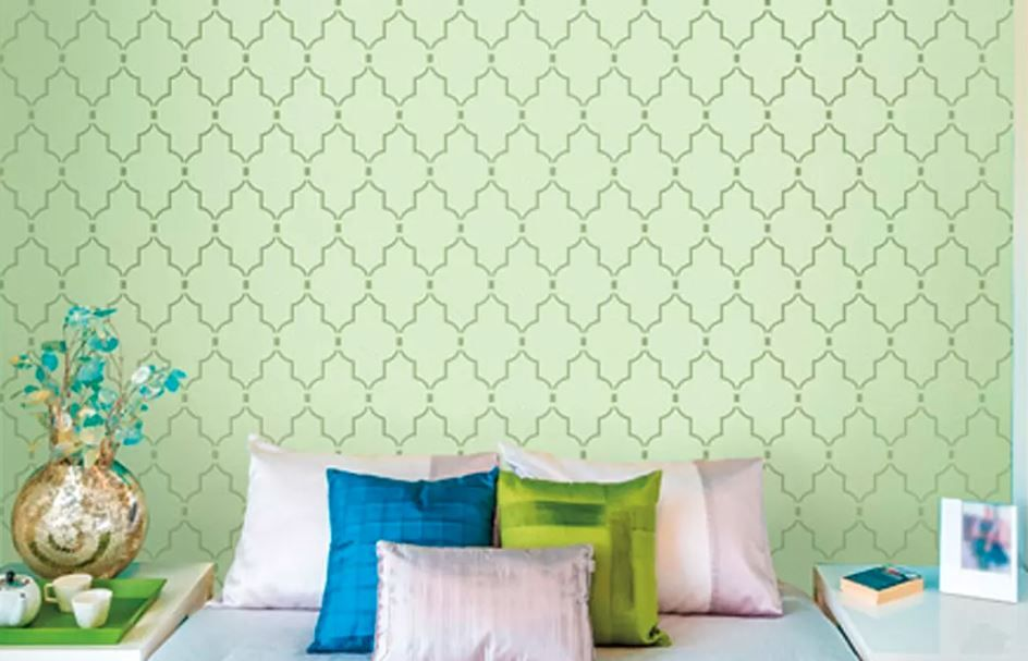 Asian Paints Wall Design 9 Ideas That Will Dazzle This Festive Season In 2020 Brick Interior Wall Asian Paints Wall Designs Wall Paint Designs