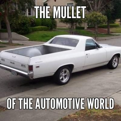 The El Camino Is A Classic Business In The Back Car In The Front