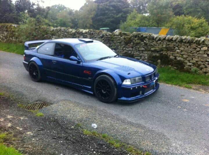 BMW E36 M3 Turbo blue widebody | Errr thang | Bmw