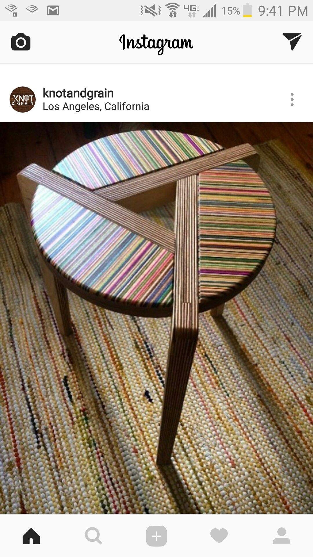 Super Beistelltisch ChairMadera is part of Wood table diy -