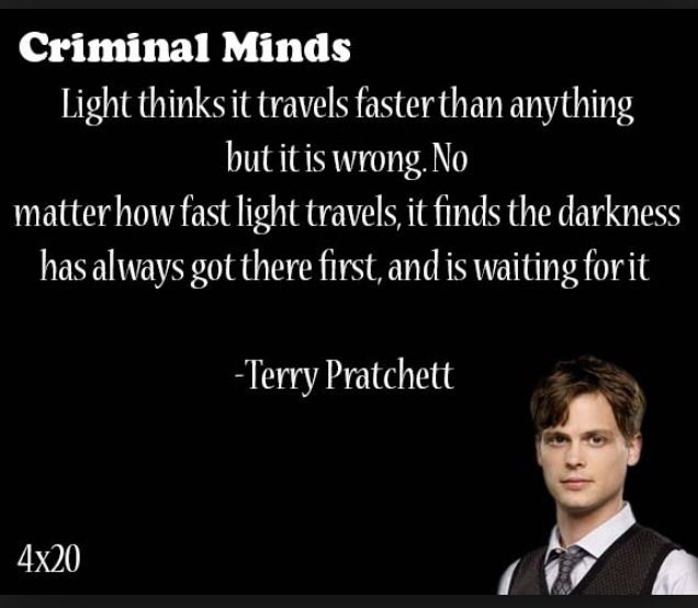 Criminal Minds | Quotes in 2019 | Criminal minds quotes ...