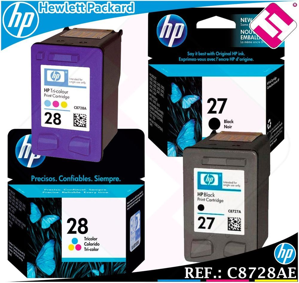 Pin En Tinta Hp Original Hewlett Packard