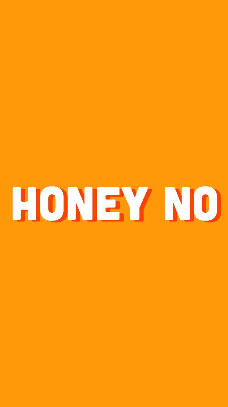 honey yellow aesthetic wallpaper