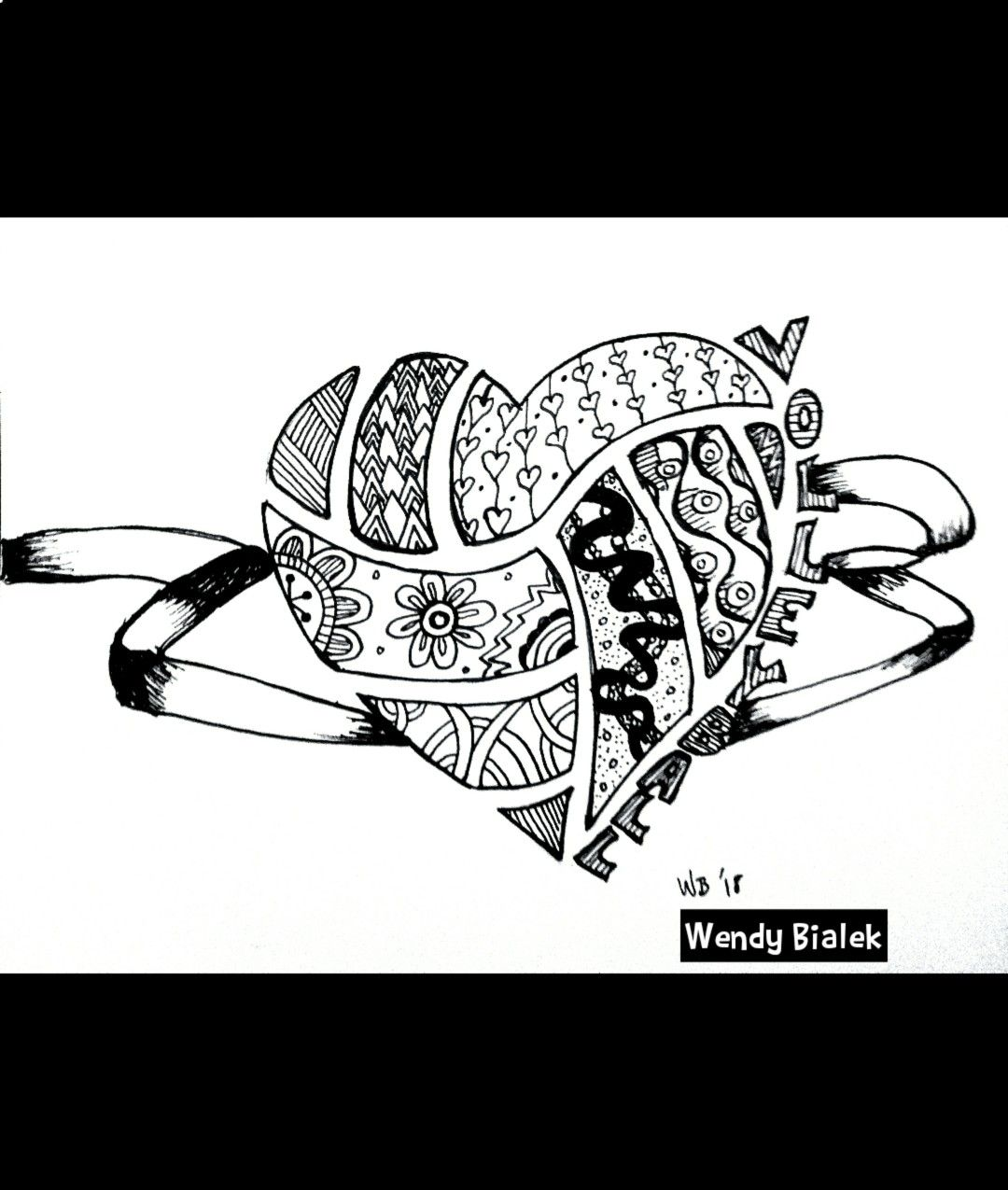 Pin By Love Out Loud Designs By Wendy On Zentangle Like Doodles And Patterns Doodle Drawings Coloring Pages Doodles