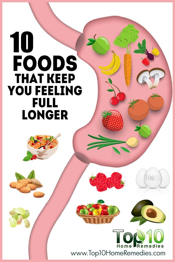 10 Foods that Keep You Feeling Full Longer | Kitchen ...