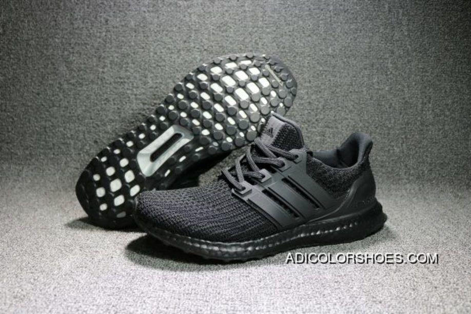 266e09780 Adidas Ultra Boost 4.0 Triple Black Super Deals