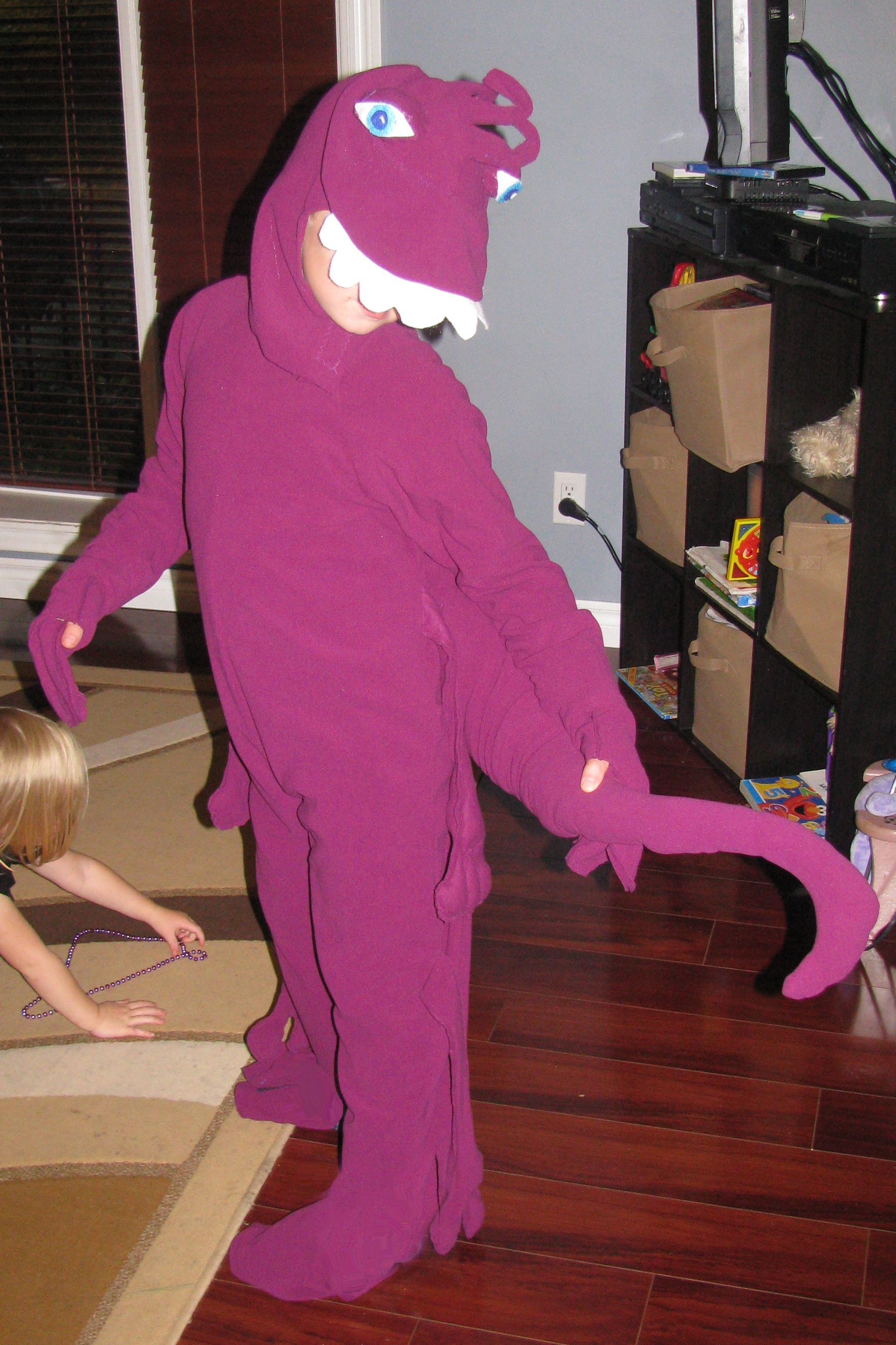 Randall Monster S Inc Costume Disfraces Molde De Animales Halloween