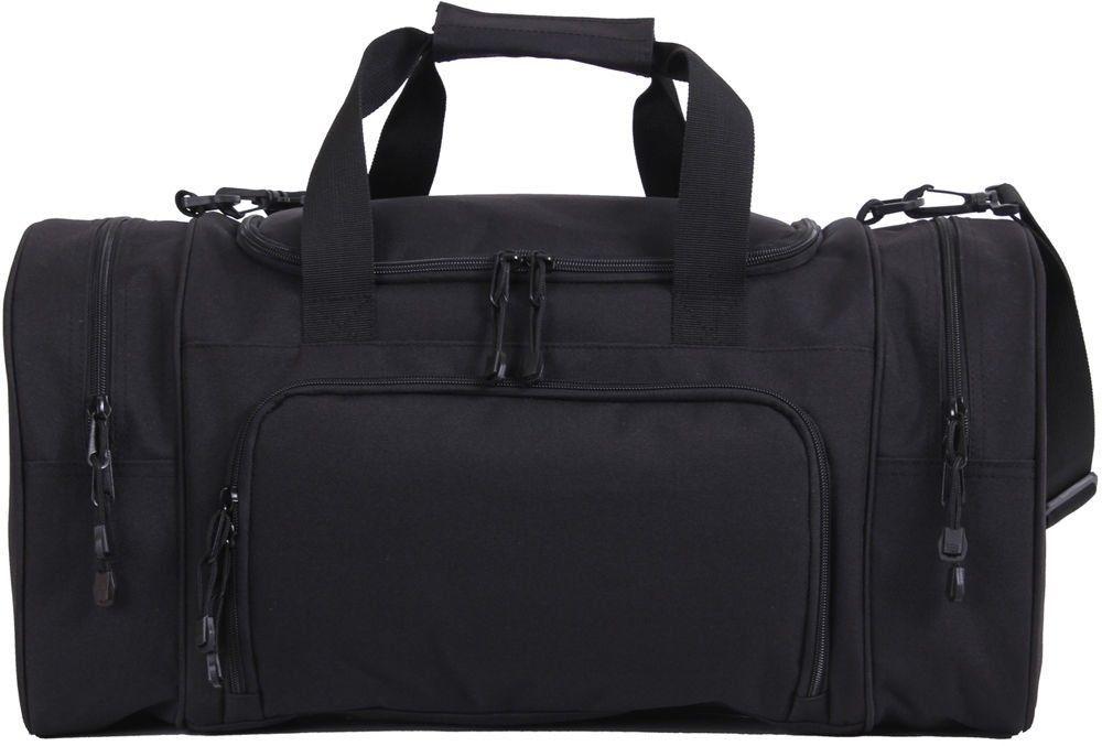 Black Carry Travel On Sport Duffle Gym Bag 21