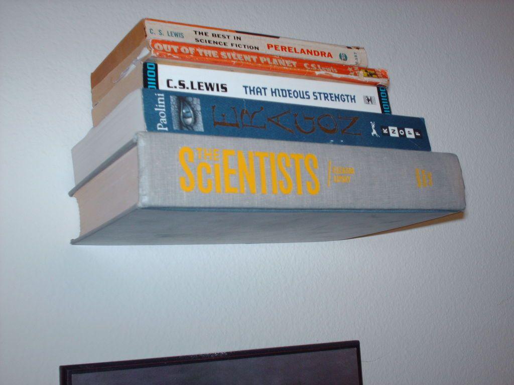 Invisible Book Shelf | Bookshelves diy, Invisible ...
