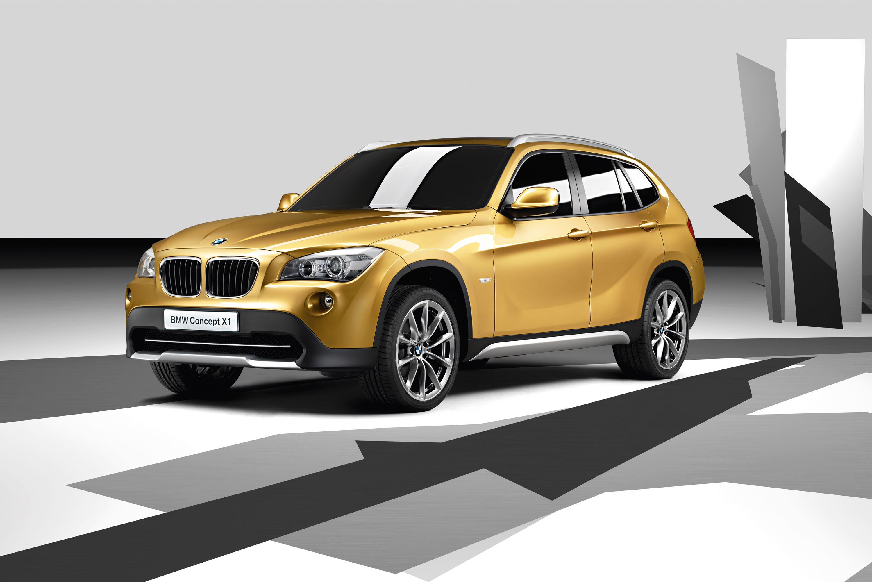 BMW X1 Concept I Absolutely Love This Color Gold And The Whole