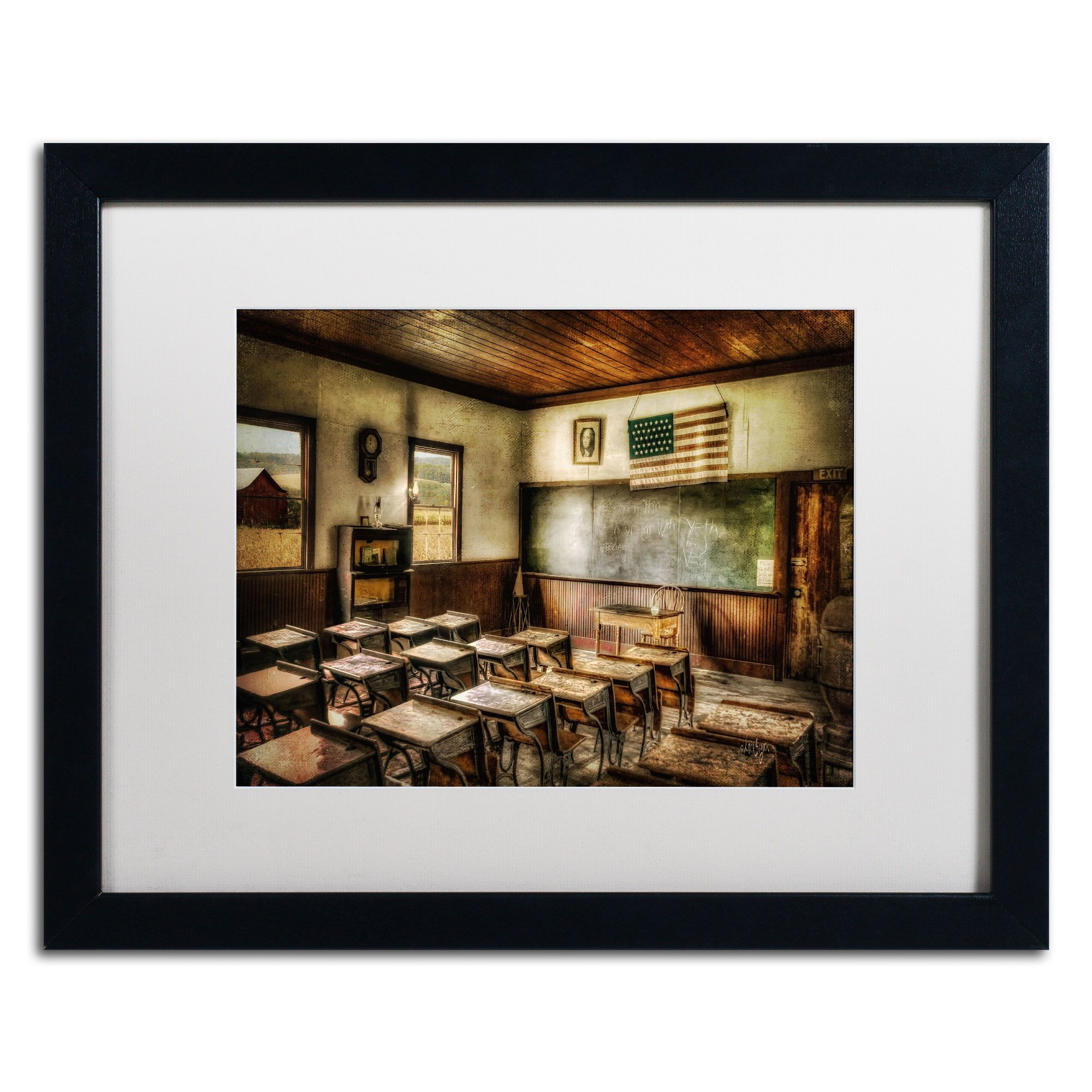 One Room School by Lois Bryan Framed Photographic Print