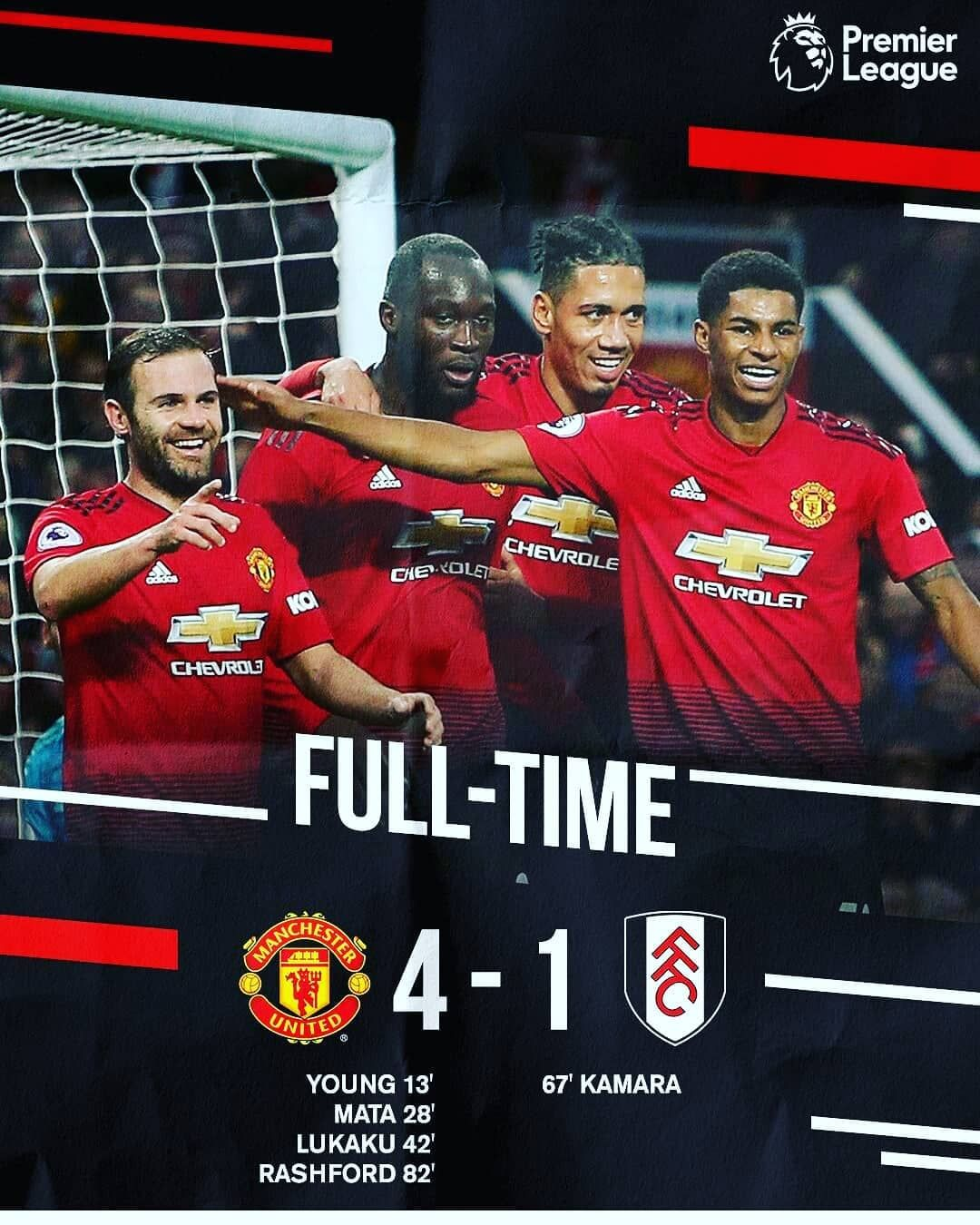 Finally We Did It A Big Win For The Team Congrats Lads Well Done Manchester United Jesse Lingard Manchester