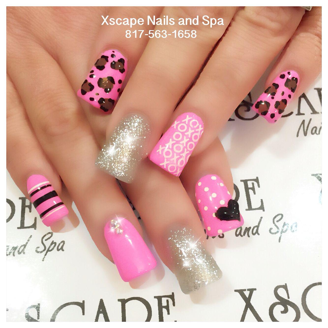 Valentine's Day nail designs - Valentine's Day Nail Designs Cute Nails Designs Pinterest