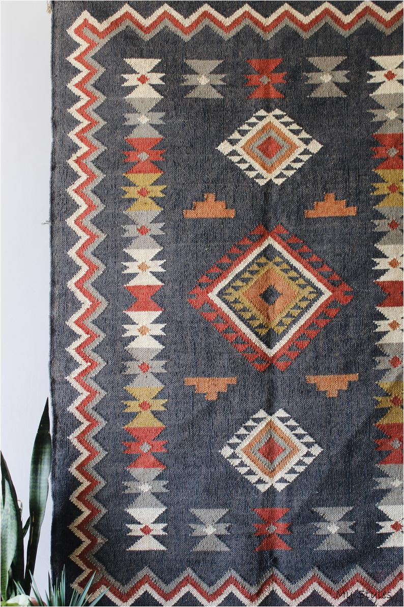Striped Rug Colorful Rugoffice Rugred Rugsmall Etsy In 2020 Dhurrie Rugs Colorful Rugs Handwoven Carpets