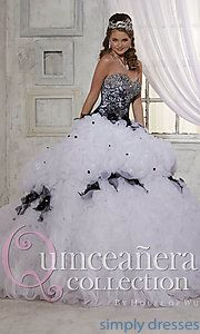 Buy Long Quinceanera Gown by House of Wu at SimplyDresses