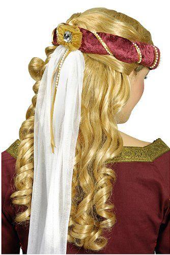 edles gotisches haarband mit schleier stirnband mittelalter kopfschmuck kopfschmuck haarband. Black Bedroom Furniture Sets. Home Design Ideas