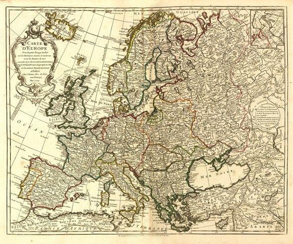 carte europe ancienne