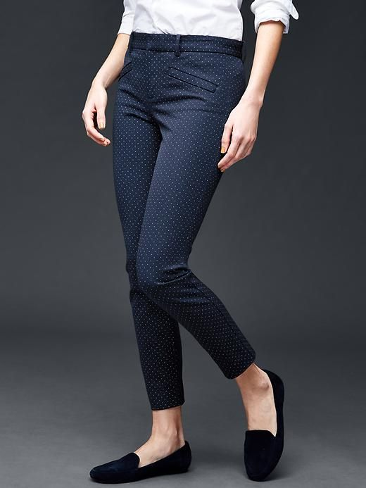 e224fb22c5f Bi-stretch skinny ankle pants