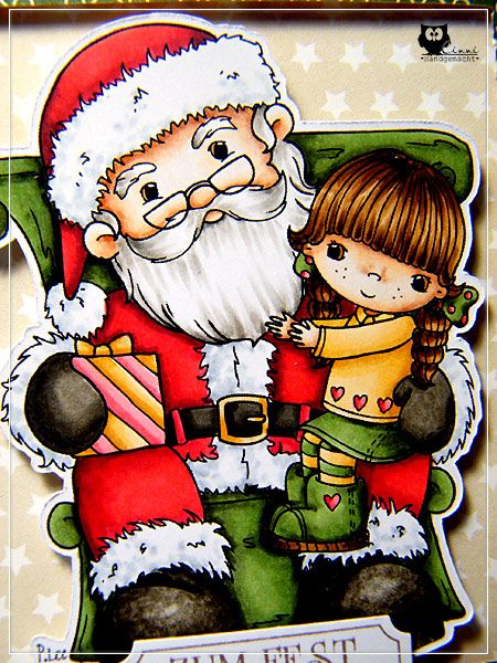CAS, Card, Copic, Little Miss Muffet Stamps, Xmas