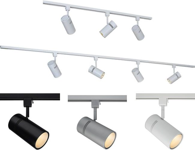 bruck lighting track systems. Bruck Lighting 370KIT Line Voltage Zonyx Kit With E15 Track Spots - Single-Circuit Tracks Systems A