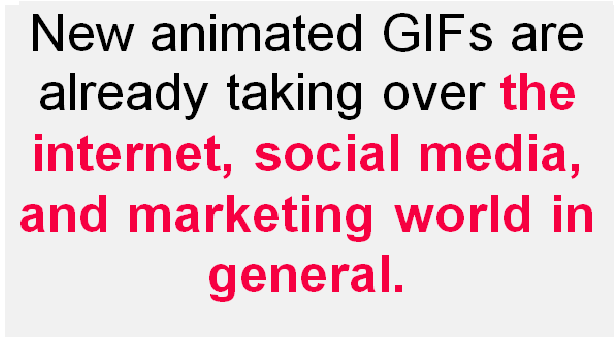 gifff Leverage the power of new animated GIFs