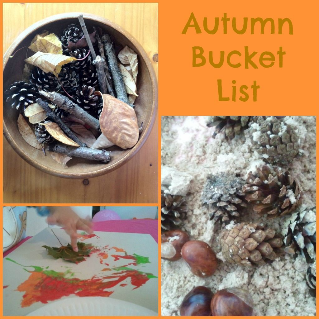 Playful Learners Autumn Bucket List Fall bucket list