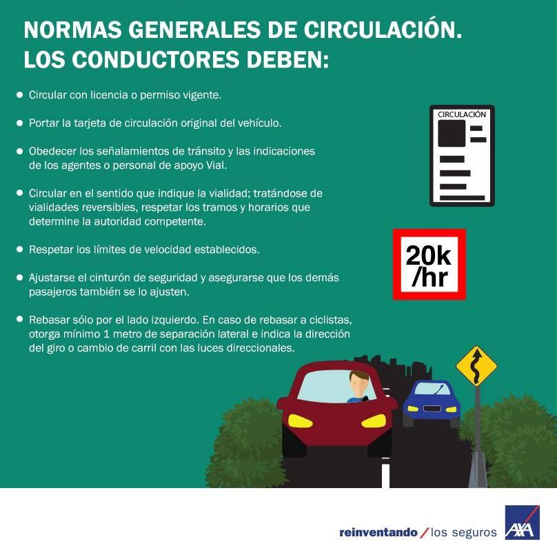 Conoce las normas generales de circulaci n y evita - Medias para la circulacion ...