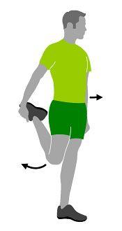 Dehnübung Hüfte   Fitness - Sport - Wellness - Ernährung ...