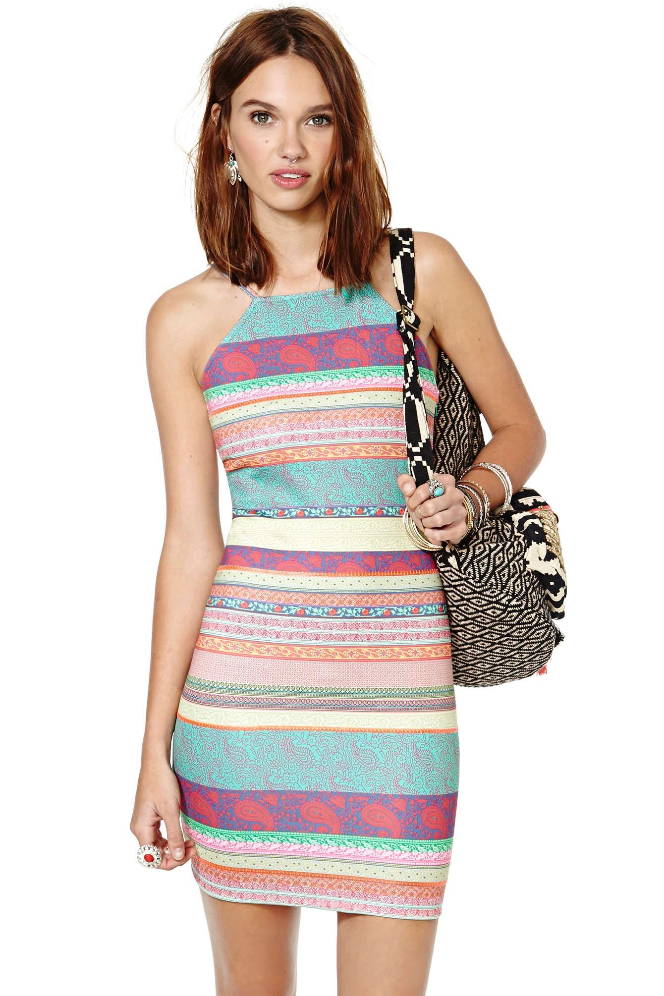 MinkPink Jasmine Paisley Dress | Shop What's New at Nasty Gal dresses,girl,fashion share by vthebox.com