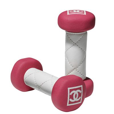 Chanel dumbells!