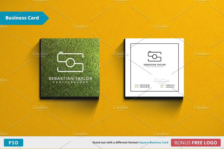 S Square Business Card Template Square Business Cards Square Business Card Business Card Template