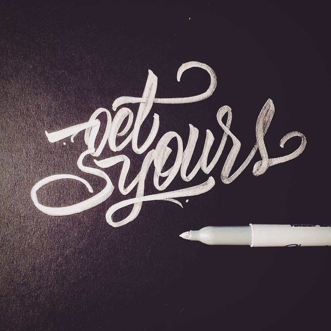 Get Yours Metallic Calligraphy Calligraffiti Sharpie