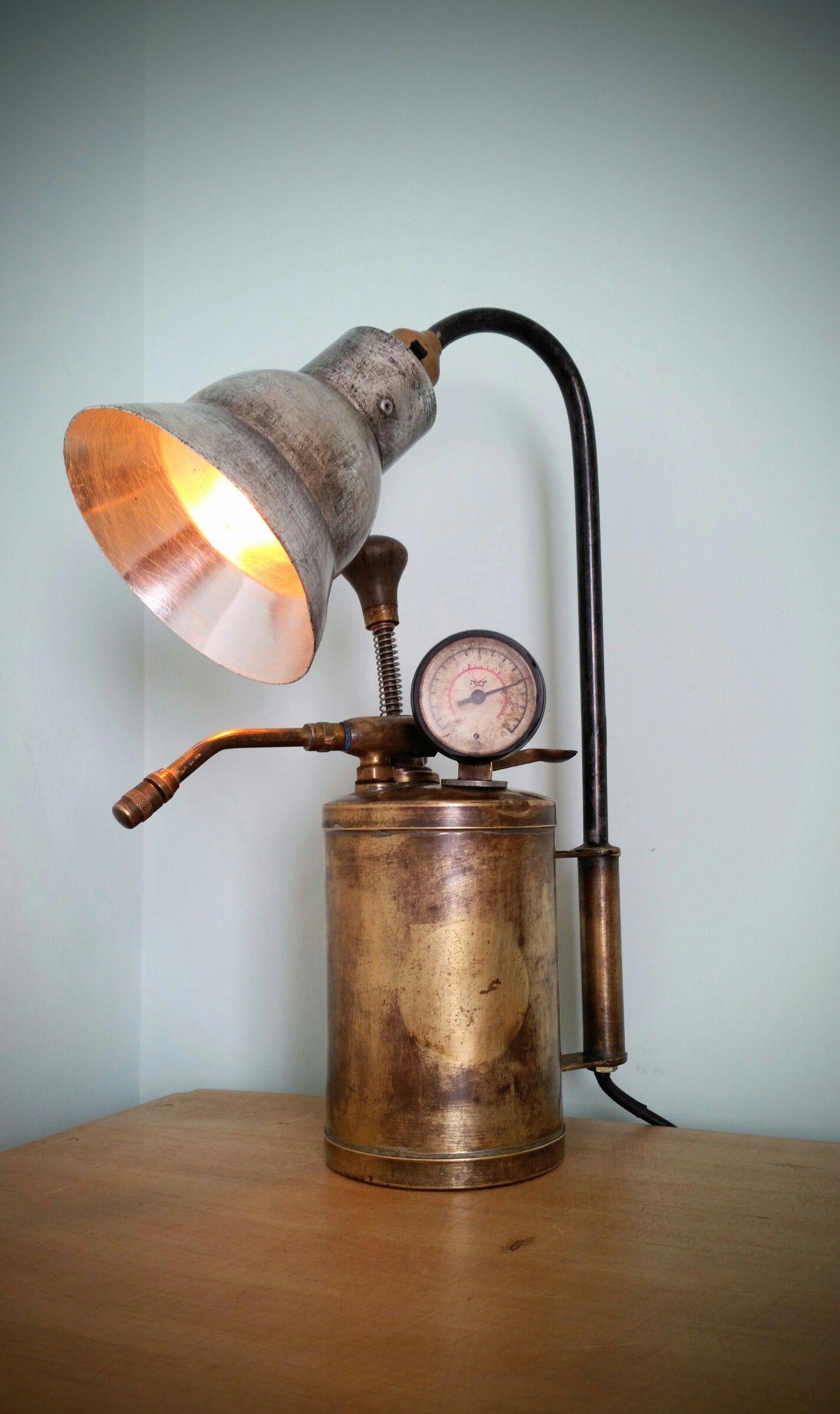 Ideal presen Vintage Industrial Retro Pipe Lamp Steampunk style Rock Star